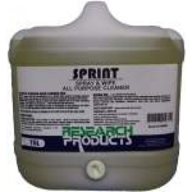 16015 RESEARCH SPRINT - SPRAY & WIPE ALL PURPOSE CLEANER 15LT