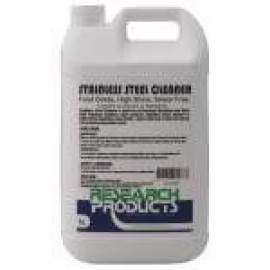 601115A RESEARCH STAINLESS STEEL CLEANER - FOOD GRADE , HIGH SHINE, SMEAR FREE 5LT