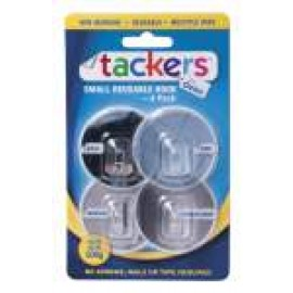 TH-003 OATES TACKERS  SML REUSABLE HOOK 4PK
