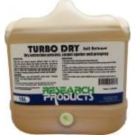 180015 RESEARCH TURBO DRY SOIL RELEASE - DRY EXTRACTION PROCESS CARPET SPOTTER AND PRESPRAY 15LT