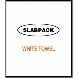 W/TWL10KG RAGS SLABPACK WHITE TOWELLING 10KG