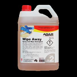 WIP5 AGAR WIPE AWAY - SPRAY AND WIPE CLEANER 5LT