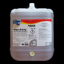 WIP20 AGAR WIPE AWAY - SPRAY AND WIPE CLEANER 20LT